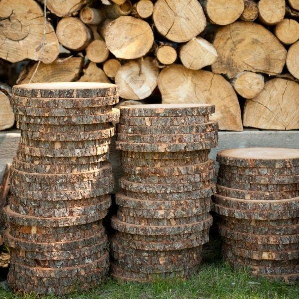 Round Wooden